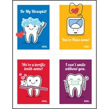 You're Floss-some Valentines