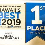 Honolulu Star Advertiser First Place Dentist